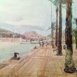 Progreso de la obra: Puerto de Cartagena