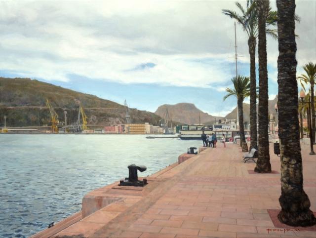 Muelle Alfonso XII del Puerto de Cartagena