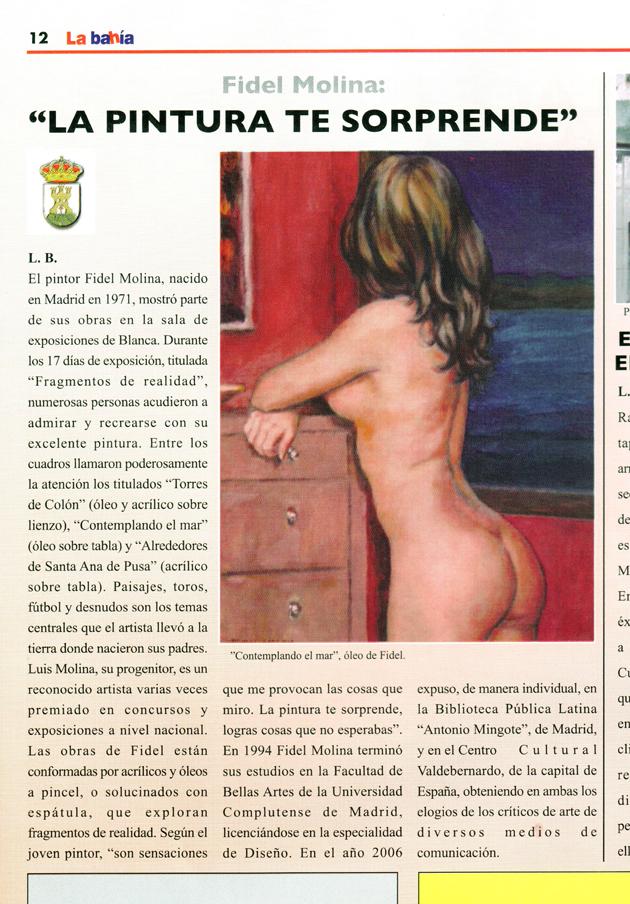Magazine cultural La Bahía. Número 25. Octubre – Noviembre de 2007.