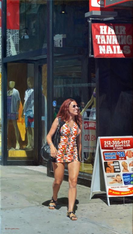 Caminando por la Quinta Avenida